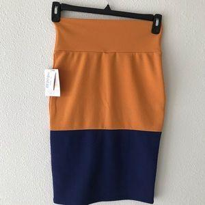 NWT Cassie LulaRoe pencil skirt Size XS